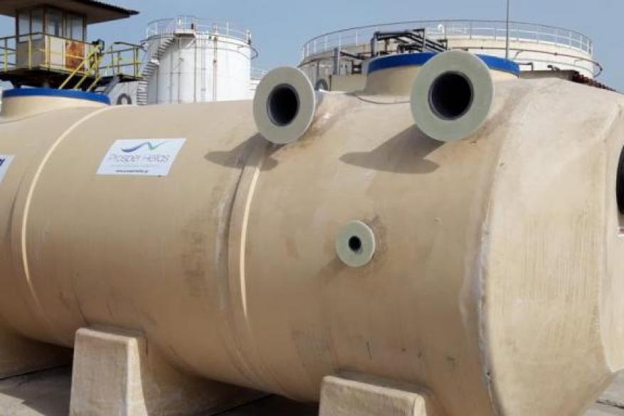 Εγκατάσταση Διαχωριστή υδρογονανθράκων στην CORAL - SHELL
