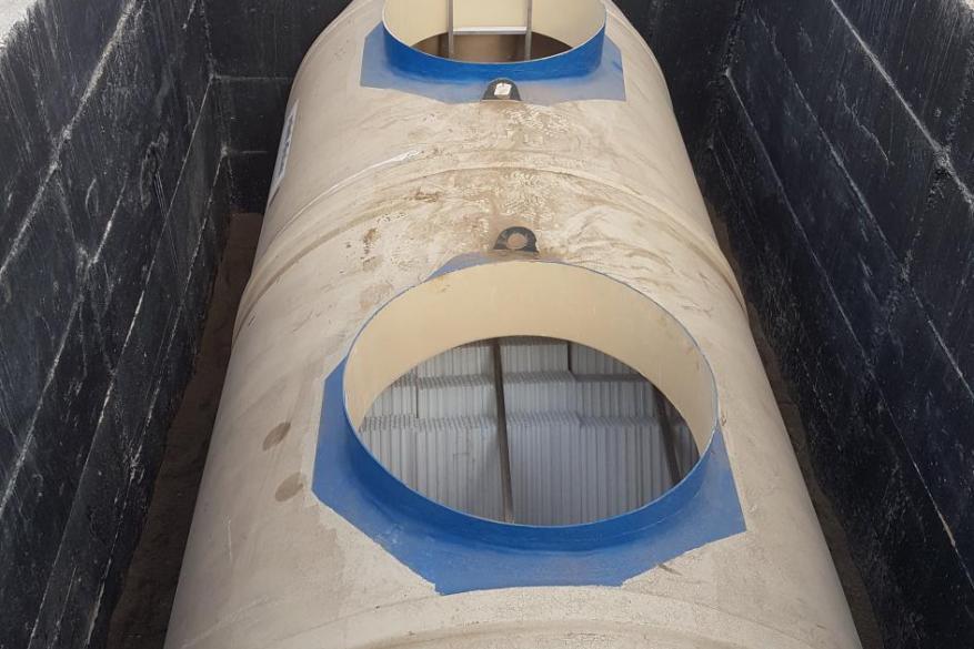 Εγκατάσταση διαχωριστών υδρογονανθράκων στον Οργανισμό Λιμένος Θεσσαλονίκης (ΟΛΘ)