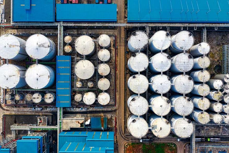 Χώροι αποθήκευσης Πετρελαίου